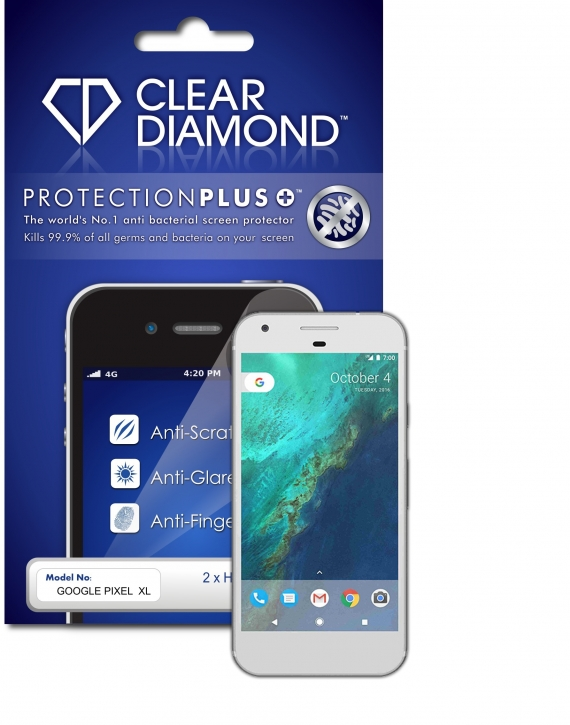 Google Pixel XL Anti-Glare Screen Protector (Pack of two)