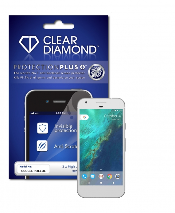 Google Pixel XL Hard-Coat Screen Protector (Pack of two)