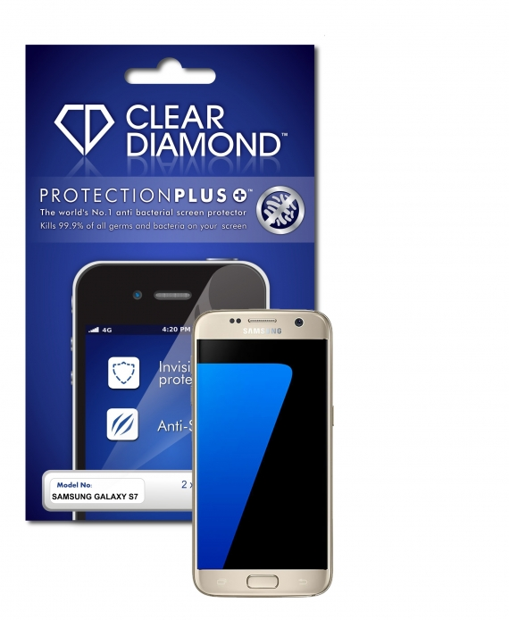Samsung Galaxy S7 Hard-Coat Screen Protector (Pack of two)