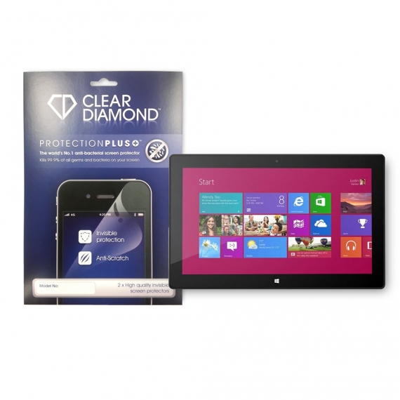 MICROSOFT SURFACE PRO 3 Hardcoat Screen Protector (Pack of two)