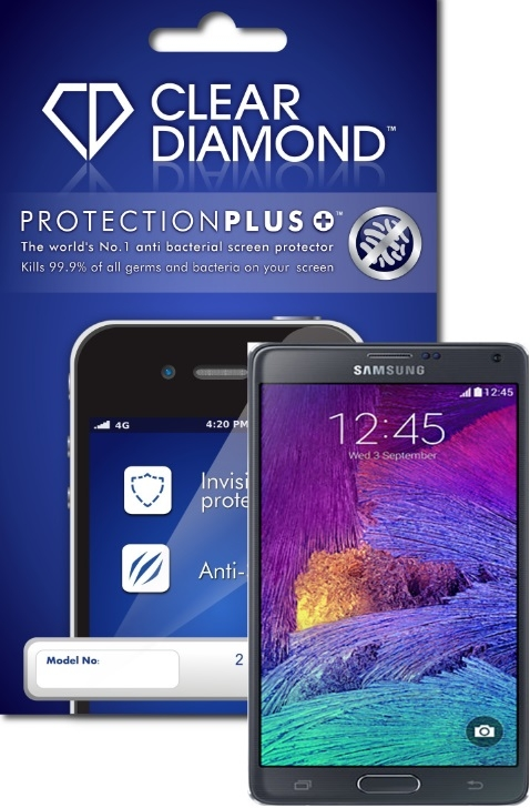 Samsung Galaxy Note 4 Hardcoat Screen Protector (Pack of two)