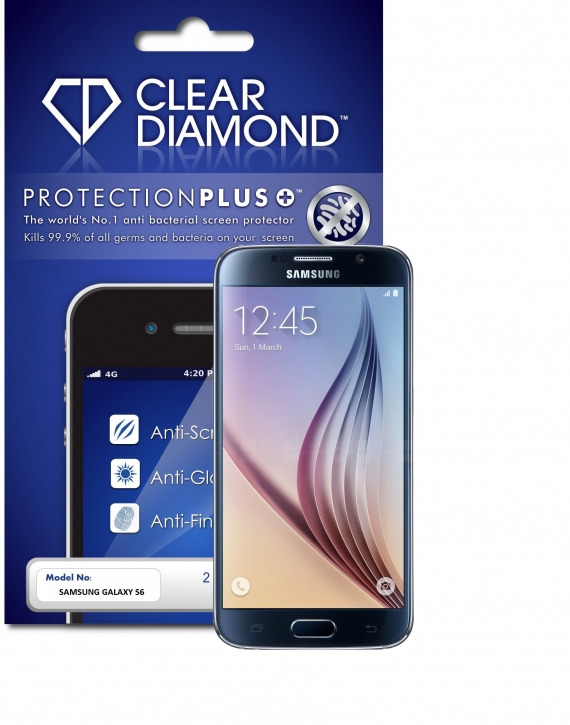 Samsung S6 Protection Plus Anti Glare Screen Protector (Pack of two)