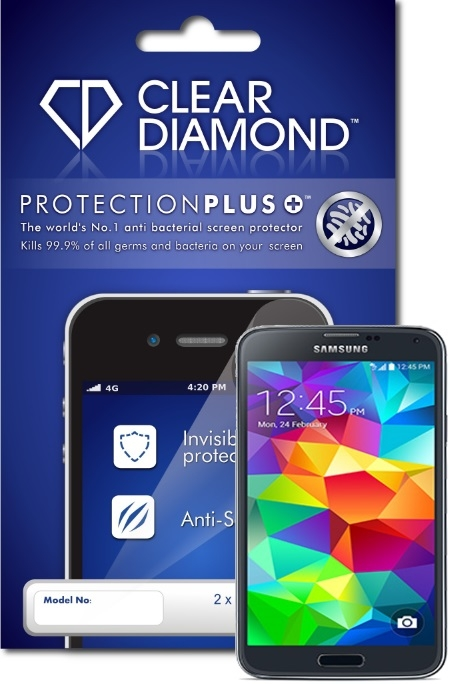 Samsung S5 Hardcoat Screen Protector (Pack of two)
