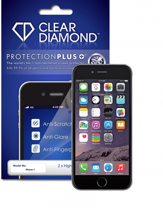 iPhone 7 Anti-Glare Screen Protector (Pack of two)