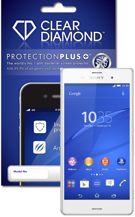 SONY XPERIA Z3 Hardcoat Screen Protector (Pack of two)